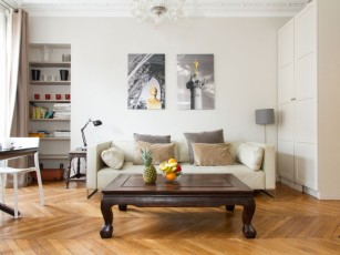 ELEGANT AND SPACIOUS APARTMENT IN THE HEART OF LE MARAIS - FRANCS BOURGEOIS