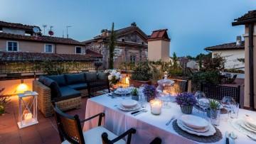 A superb bright flourish apartment with grand terrace