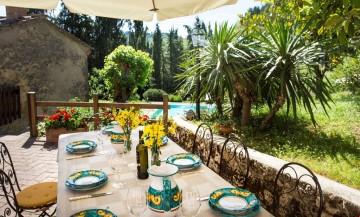 Villa na grande propriedade perto de San Gimignano