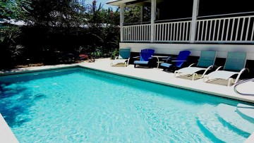Bon Villa Is South Of 30a , Animal Friendly, And Has Private Heated Pool!!!