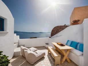 Sundance Villa - Amazing views in a peaceful spot in Oia