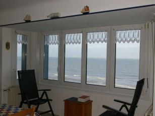 Apartment on sea dyke