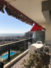 Superb Sea View Gardens Swimming Pool 3 rooms Fabron very calm