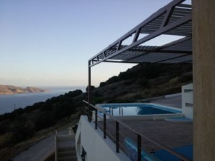 Private villa Kefali - private pool - spectacular view