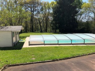BIDART Villa ground floor 200m² private pool tennis, games room, 4000m² of land