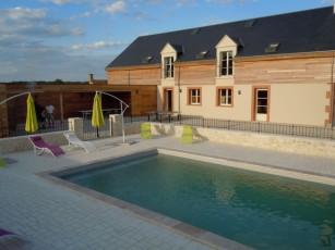 Spacious villas Region castles of the Loire for 15 persons.