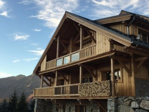 New in 2018! Super luxury 5 * ski chalet rates introductory foot